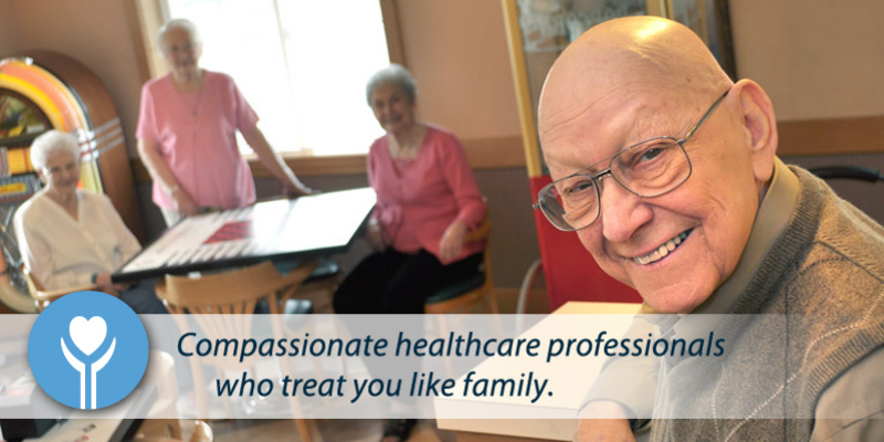We are compassionate healthcare professionals who treat our guests like family.